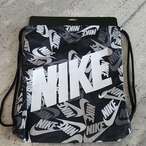 Nike Bag Cinch Sack Back Pack Gym Bag NWT
